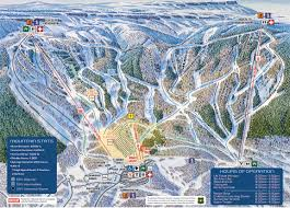 Colorado Mountain Map by Winter Trail Map Powderhorn Mountain Resort