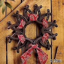 horseshoe wreath horseshoe wreath 37 horseshoe crafts to try your luck with