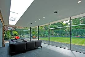 image result for glass wall rear of house bungalow extension