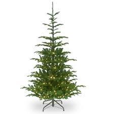7 5 ft pre lit feel real hinged norwegian spruce slim artificial