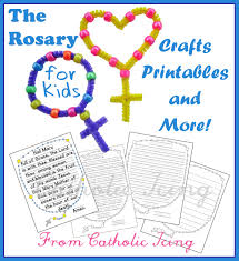 rosary for kids living the liturgical year with kids october