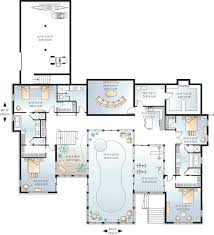 luxury house plans with indoor pool house plans with pool tjihome