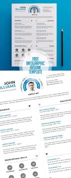 infographic resume template 20 free cv resume templates 2017 freebies graphic design junction