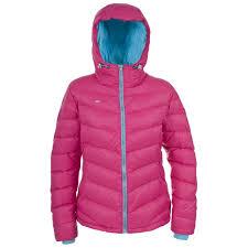 luminous cycling jacket amzie womens down jacket trespass uk