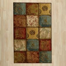 fresno area rug area rug 6 9 combination color of yellow blue red