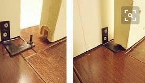 Closet Door Guide by Closet Door Guides For Wood Floor Decoration