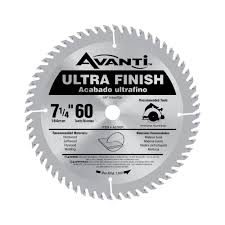 Best Saw Blade For Cutting Laminate Flooring Avanti 7 1 4 In X 60 Tooth Fine Finish Saw Blade A0760r The