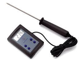 prix thermometre cuisine thermomètre de cuisson sonde électronique matfer 50 c à 200 c