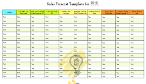 Sales Forecast Spreadsheet Exle by Sales Forecast Template Cyberuse