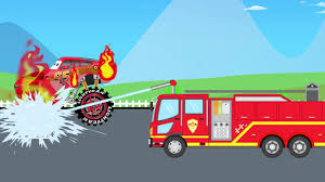 monster truck videos for kids youtube fire truck save lightning mqcueen monster truck for children
