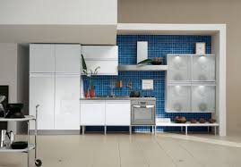 Kitchen Backsplash Mosaic Tile Kitchen Room Design Kitchen Fascinating Modern Blue Kitchen