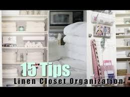 linen closet 15 tips for organizing your linen closet misslizheart youtube