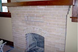 Fireplace Brick Stain by Darkening Fireplace Brick 1912 Bungalow