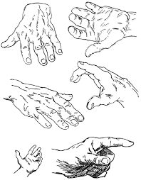 drawing hands techniques for how to draw hands with references