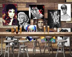 3d movie star wood board wall paper wall mural decals media living 3d movie star wood board wall paper wall mural decals media living room art decor idcwp