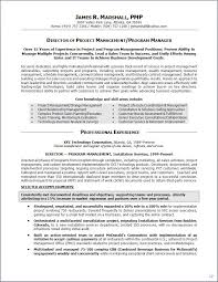 Best Resume Format Human Resources by Resume Examples Program Manager