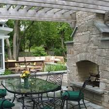 Indoor Outdoor Wood Fireplace Double Sided - two sided outdoor fireplace home ideas
