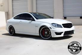 black subaru rims cocaine white c63 amg coupe with forged strasse wheels autoevolution