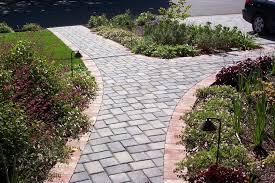 Walkway Ideas For Backyard Backyard Landscaping Images Idolza
