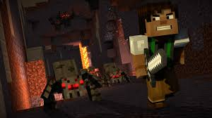 minecraft story mode season two episode 1 hero in residence