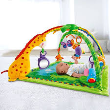 fisher price rainforest music and lights deluxe gym playset rainforest gym k4562 fisher price
