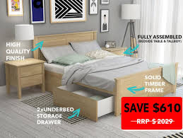 White Timber Queen Bedroom Suite Furniture Stores Clearance Cheap Queen Bedroom Sets With Mattress