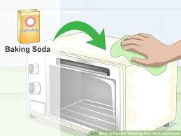 White Kitchen White Appliances by How To Remove Yellowing From White Appliances 9 Steps