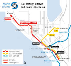 Seattle Link Rail Map Seattle Should Demand High Quality Rail