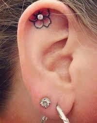 piercing ureche idei tatuaje divahair ro floare în lobul urechii și piercing