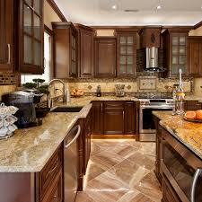 Chocolate Kitchen Cabinets Oak Kitchen Cabinets For Sale Tehranway Decoration