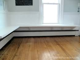 better than eden the floating built in kitchen bench dining