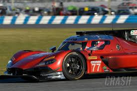 sportscars rast quickest as alonso u0027s car crashes in 1st daytona