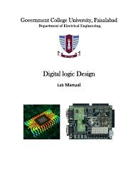digital logic design lab manual subtraction electrical circuits