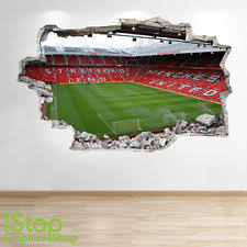 Manchester United Bed Linen - manchester united wall stickers ebay
