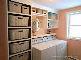 Laundry Room Shelves And Storage by Delightful Order Laundry Room Craft Room Office All In One Makeover