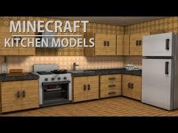 minecraft models demonstration kitchen art youtube