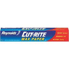 amazon com reynolds wrap cut rite wax paper 75 sq ft 2 pk