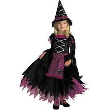 Magenta Halloween Costume Fairy Tale Witch Child Halloween Costume Walmart