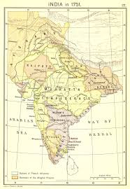British India Map by Joppenlate1700s