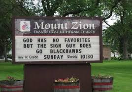 church signs of the week the exchange a by ed stetzer