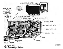 63 chevy headlight switch wiring diagram wiring diagrams