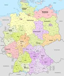 Germany Map Freiburg by File Germany Administrative Divisions Districts De Colored