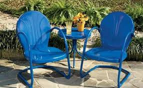 Steel Patio Chairs Create A Unique Environment Through Metal Patio Chairs
