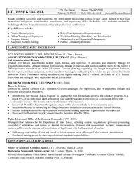 cover letter for law enforcement law enforcement resume samples