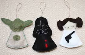 felt ornaments diy wars christmas ornaments diy geekery