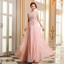 wedding evening dresses aliexpress buy floor length chiffon evening