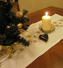 gold christmas table runner gold christmas table runner loris decoration