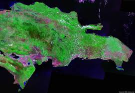 South America Satellite Map by Dominican Republic Map And Satellite Image