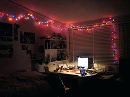 hanging christmas lights on brick walls lights in room outstanding how to hang lights on wall ideas best