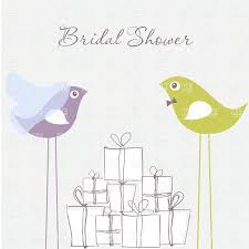 free bridal shower bridal shower invitation birds in and groom costumes and